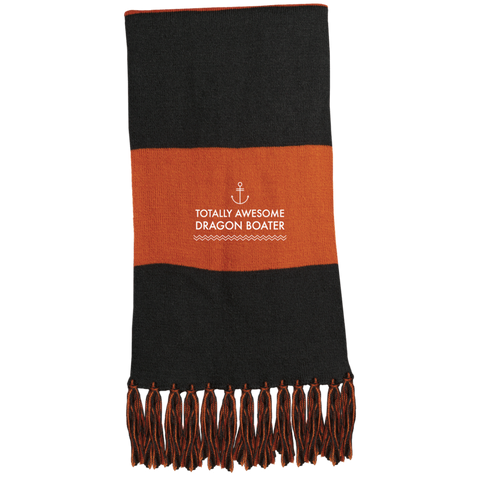 Totally Awesome Dragon Boater Sport-Tek Fringed Scarf