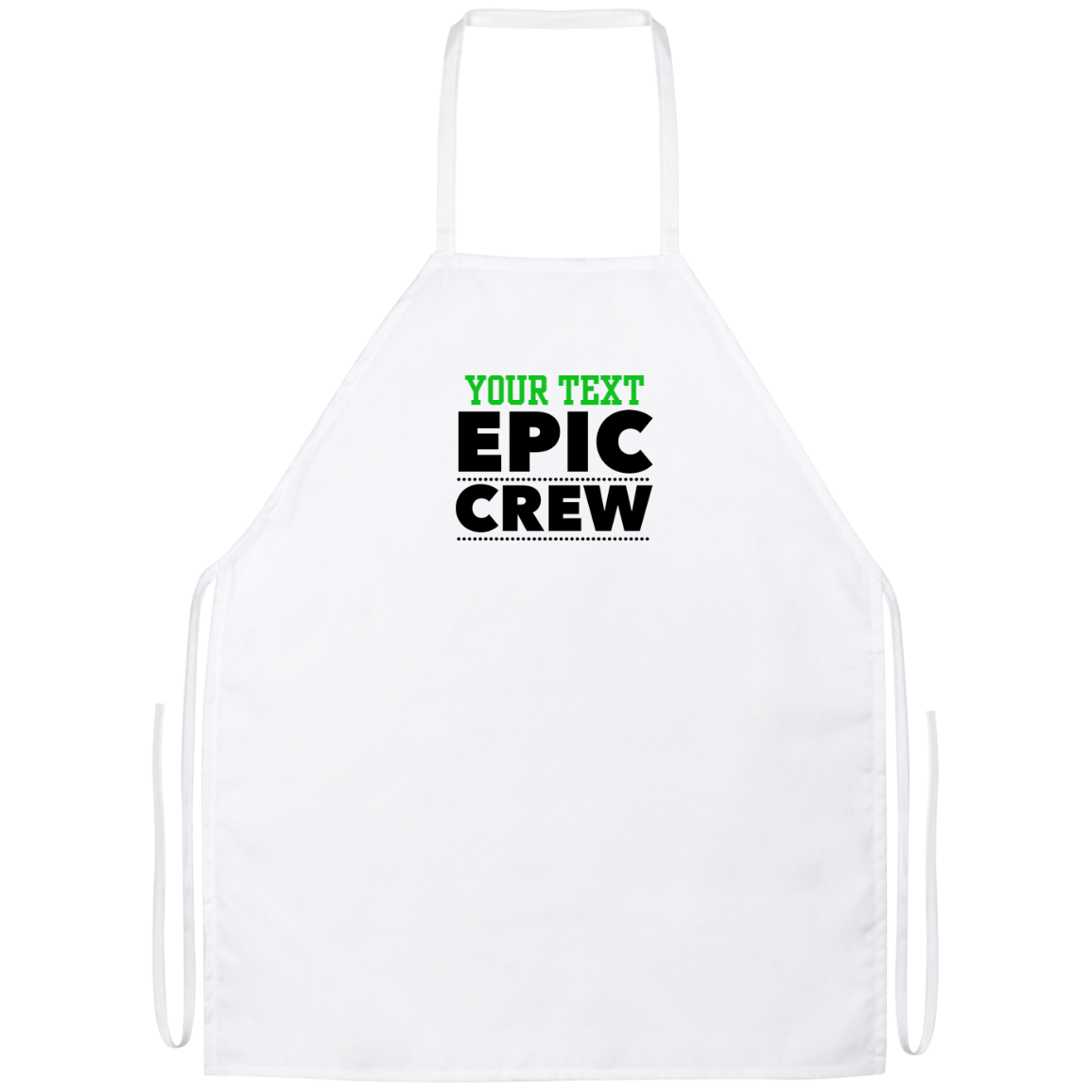 Personalized-Epic Crew Apron