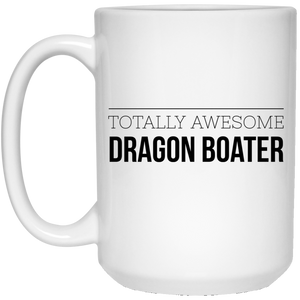 Awesome Dragon Boater 15 oz. White Mug