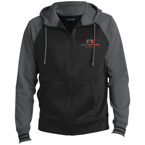 Fast Response Marine Sport-Tek Men's Sport-Wick® Full-Zip Hooded Jacket