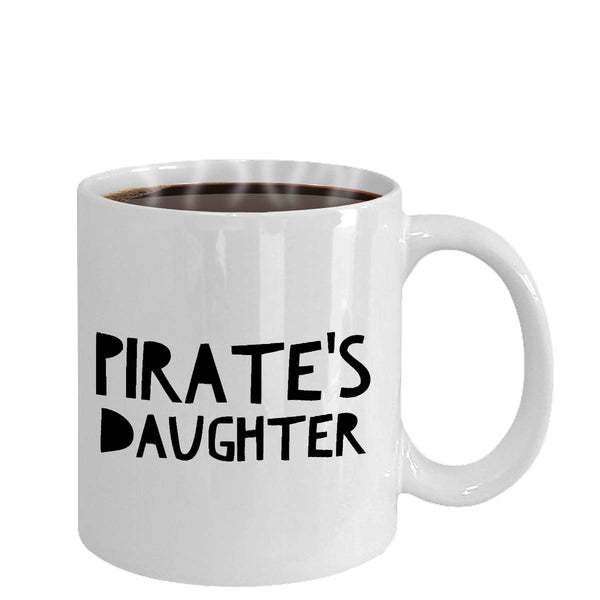Funny Boating Gifts Pirate's Daughter Coffee Mug Ceramic