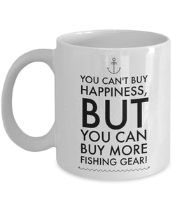 Funny Fisherman Gift Fisherman Gift  Buy More Fishing Gear Coffee Mug