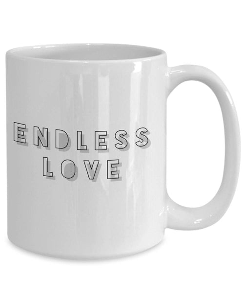 Love Gift  Endless Love Coffee Mug Ceramic