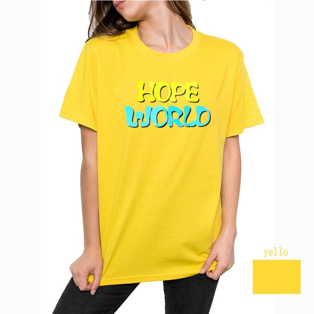 Hope Rainbow Shirt, J-Hope T-Shirt, Jung Hoseok Shirt, Hope World T-shirt,  Bias Shirt,  Cypher T-shirt, Ddaeng Shirt