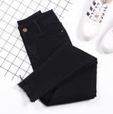 Free shipping Slim Women Jeans 3 Color Can Choose Tight Female Pants Trousers