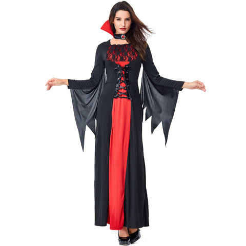 Halloween Costume Sexy Vampire Costume Women Masquerade Party Cosplay Gothic Halloween Dress Vampire Role Play Clothing