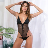 Women Bodysuit Sexy Teddy Lingerie Sexy Hot Erotic Bodysuit Catsuit Babydoll Underwear Hollow Out Erotic Lingerie Porno Costumes