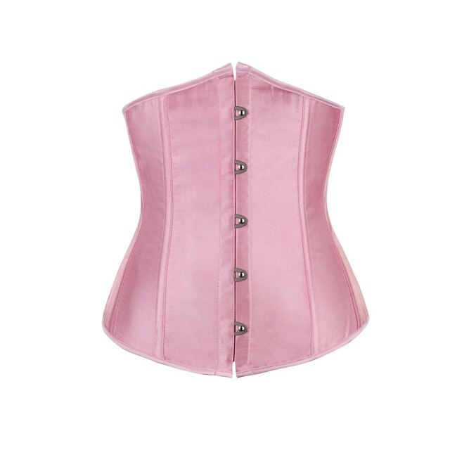 Red Purple Black White Blue Pink Apricot underbust plus size corset waist cincher bustiers top workout body shaper belt