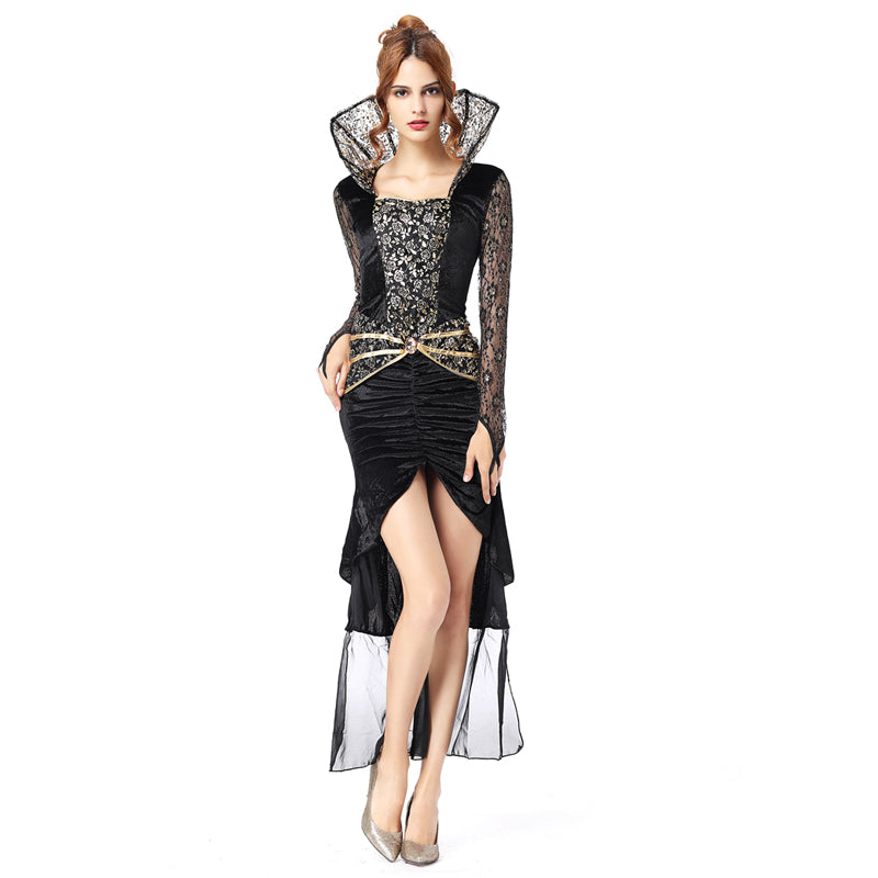 Witch costume adult sexy Halloween costumes for women Scary Costumes dress women princess cosplay