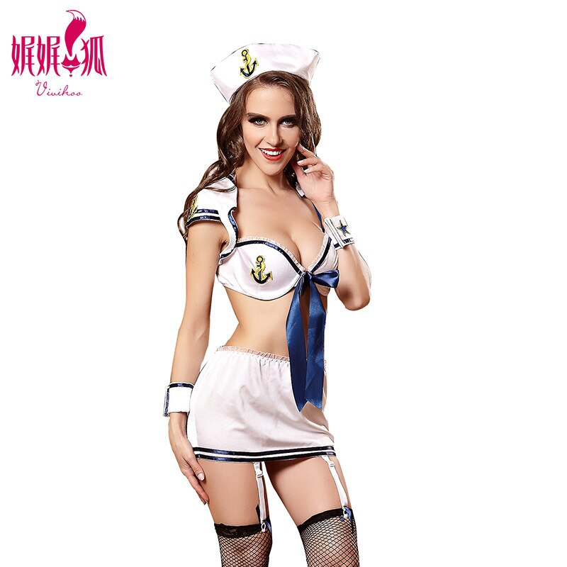 Weiweihu Sexy Sailor Uniforms Adult Sexy Female Girl Sailor Women Sexy Fancy Dress