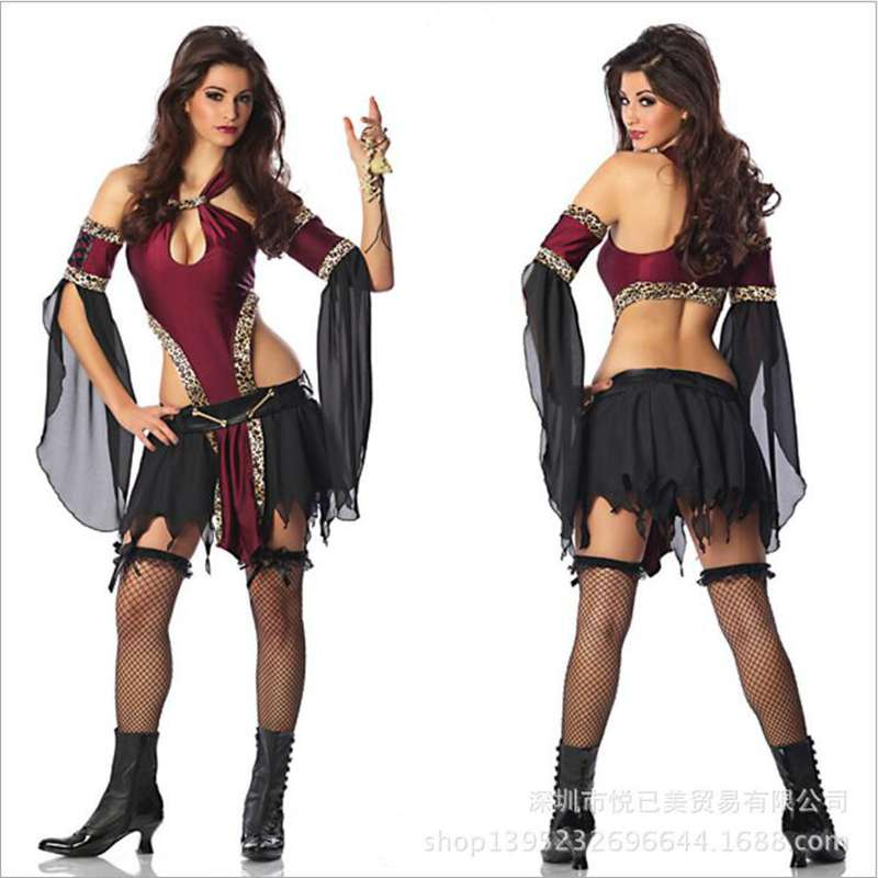 Halloween Clothing Product Pirate Vampire Outfit Night KTV Hostess Acting Role Playing Costume