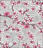 Freckled Sage Cherry Blossom Silver