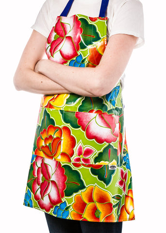 Freckled Sage Aprons Floral Collection
