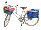 Freckled Sage Bike Tote Strawberry Blue