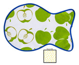 Freckled Sage Oilcloth Cat Mat Mod Apple Green