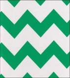 Freckled Sage Swatch Green Chevron