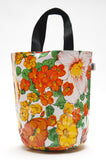 Freckled Sage Oilcloth Grocery Sak Orange
