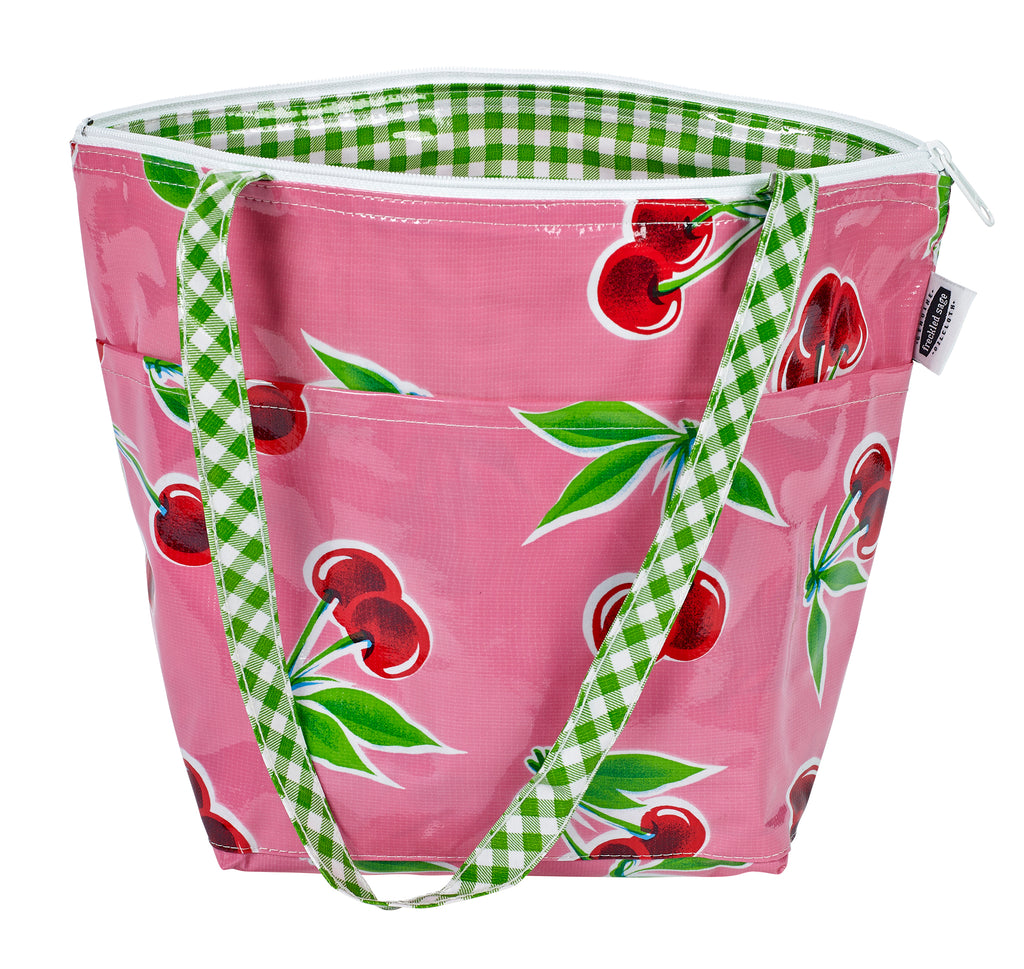 Freckled Sage Insulated Thermal Lunch Bag Cherry Pink