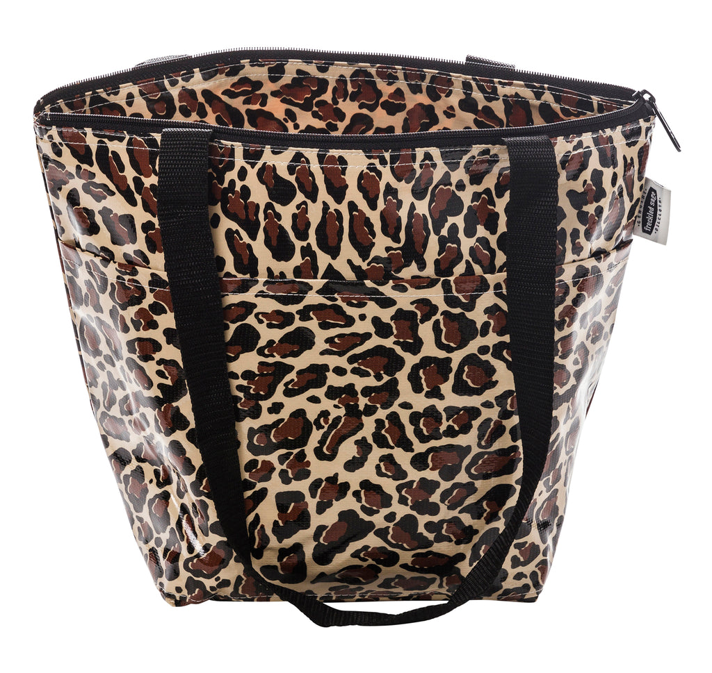 Freckled Sage Insulated Thermal Lunch Bag Leopard