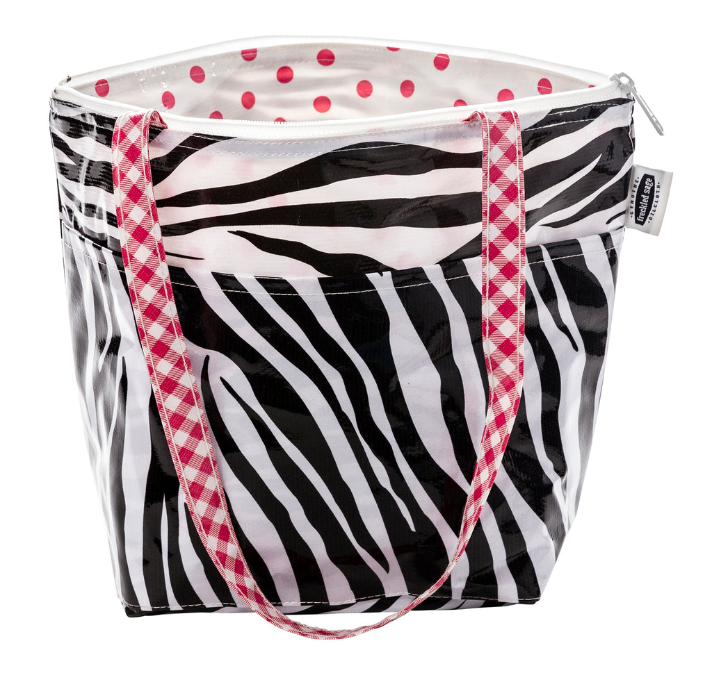 Freckled Sage Insulated Thermal Lunch Bag Zebra