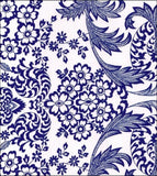 Swatch Blue Toile