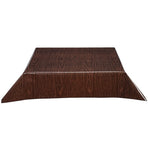 Sale Faux Bois Walnut Oilcloth Tablecloth