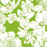 Freckled Sage Chelsea Flowers on Lime Swatch