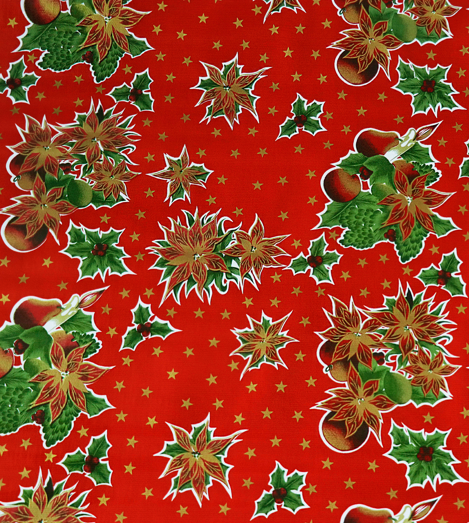 Freckled Sage Oilcloth Christmas Stars