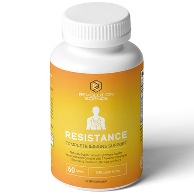 RESISTANCE Organic Immune System Booster & Immunity Support - 60 Tablets