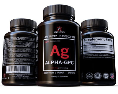 Hyper Absorb Alpha GPC, Brain Nootropic & Choline Supplement