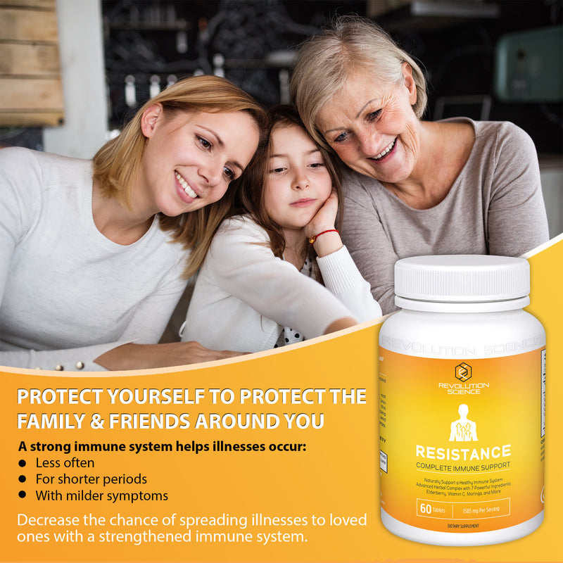Resistance - Organic Immune System Booster & Immunity Support