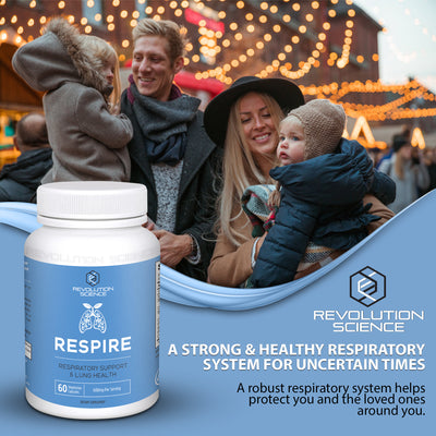 Respire - Respiratory Support & Lung Health Supplement