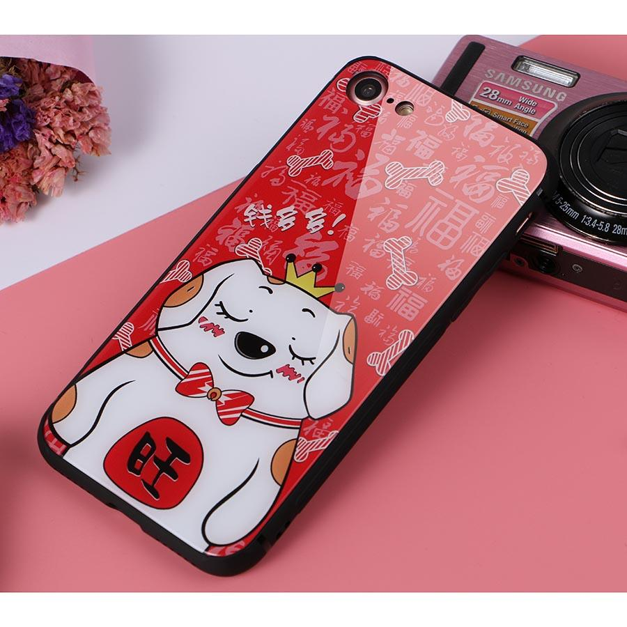 Dikkar Fortune Dog B iPhone Case