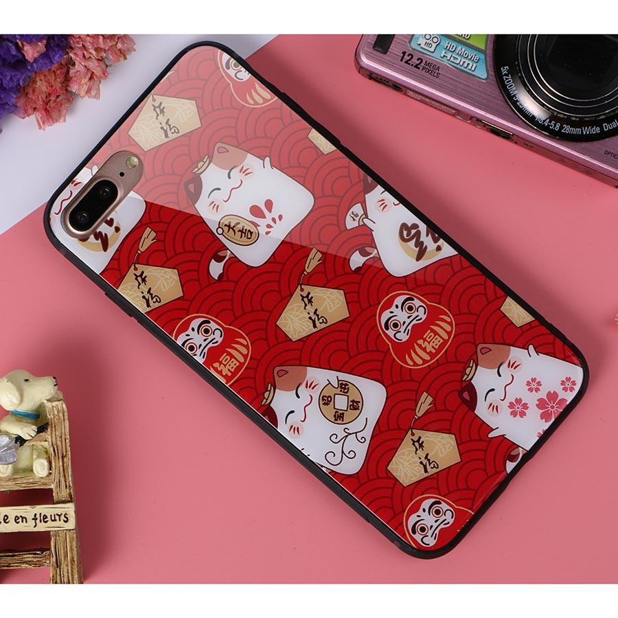 Dikkar Fortune Cat B iPhone Case
