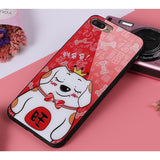 Dikkar Fortune Dog B iPhone Case - Electronic Headphone Wholesale
