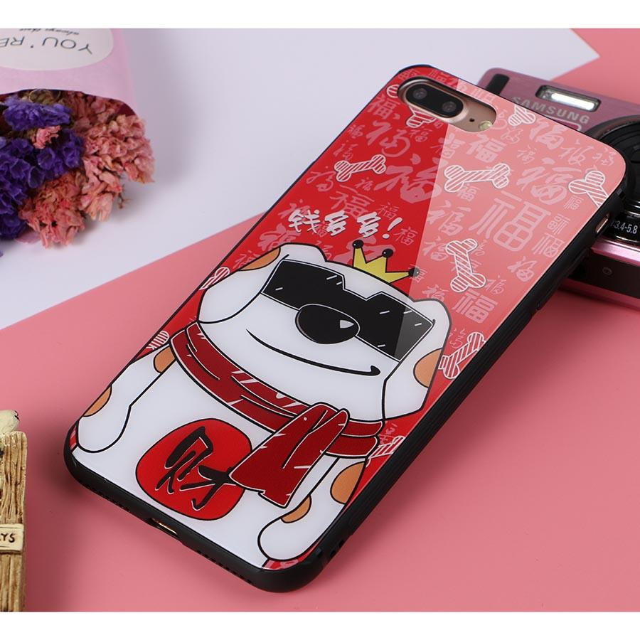 Dikkar Fortune Dog iPhone Case