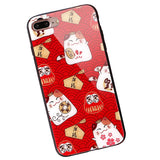 Dikkar Fortune Cat B iPhone Case - Electronic Headphone Wholesale