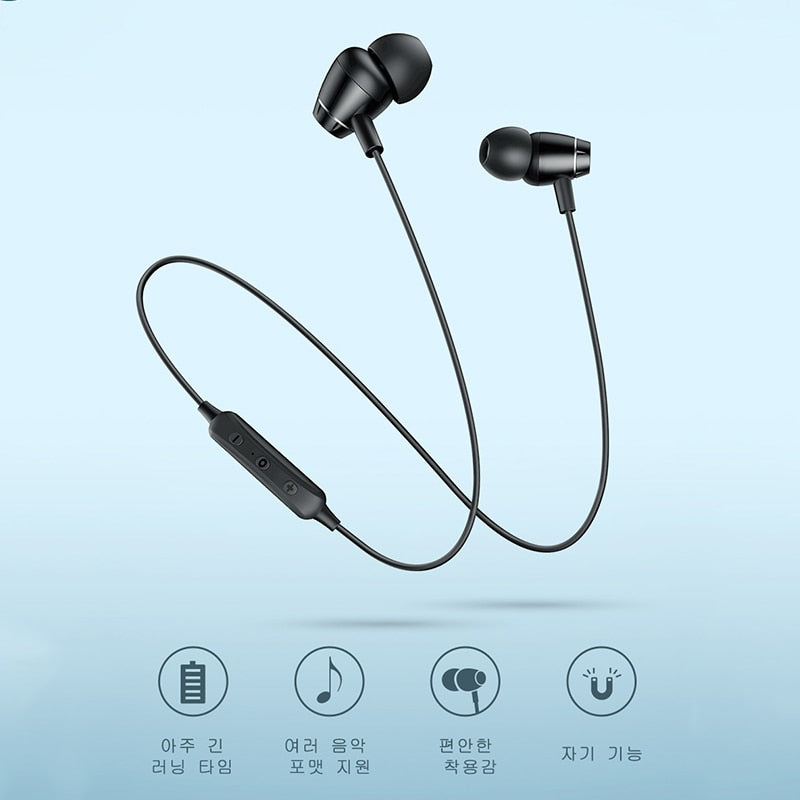 S09 Bluetooth Earphone IPX5 Waterproof Wireless Headphone
