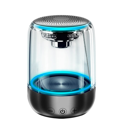 Portable Transparent Bluetooth Wireless Speakers