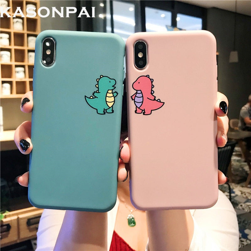 Cartoon Dinosaur Phone Case For iphone