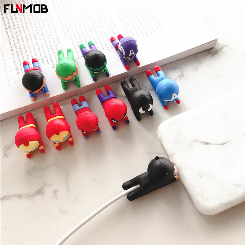 Cartoon Cable Protector For iPhone Phone Accessory