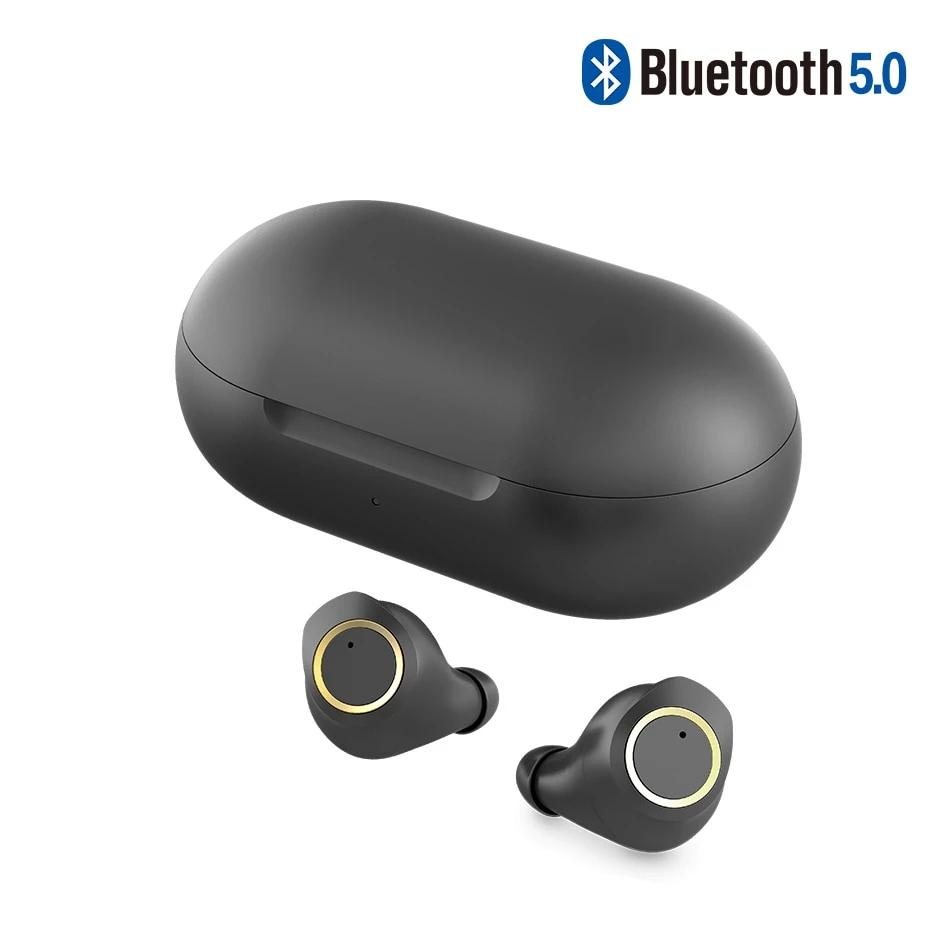 Bluetooth 5.0 Wireless Earbuds Touch Control Earphone