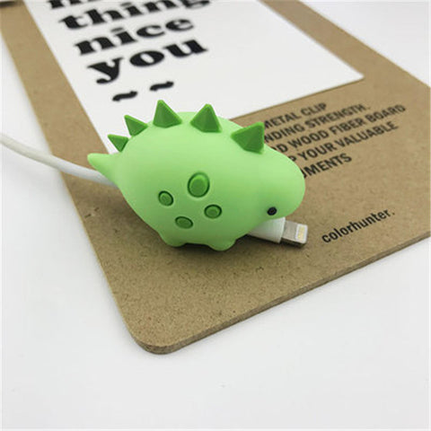 Micro USB Type-c Charging Data Cable Protector animal bite protective case