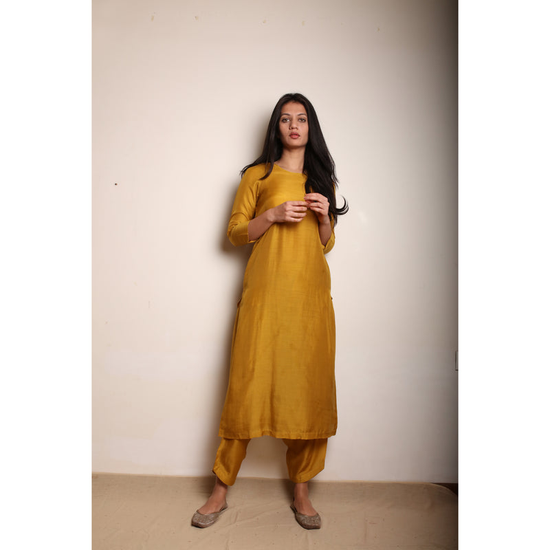 Zuhoor Honey Kurta Set