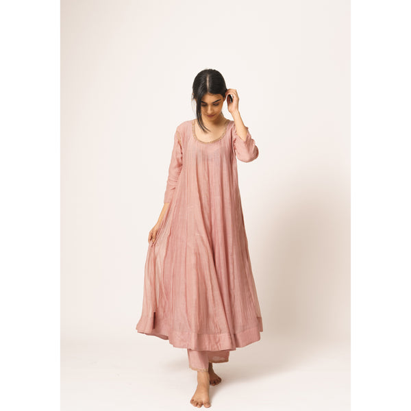 Old Rose Aayat Kurta-Pant Set