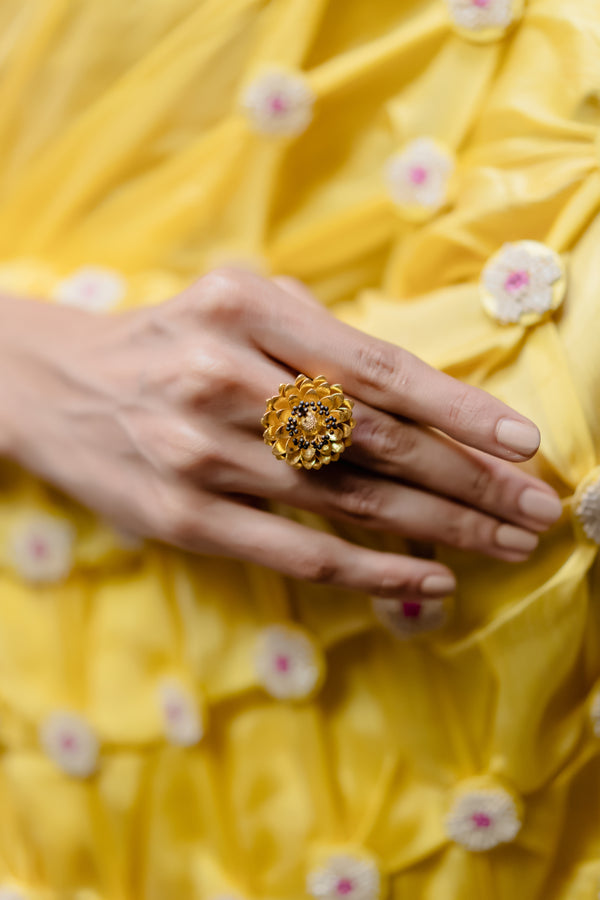 Marigold Statement Ring