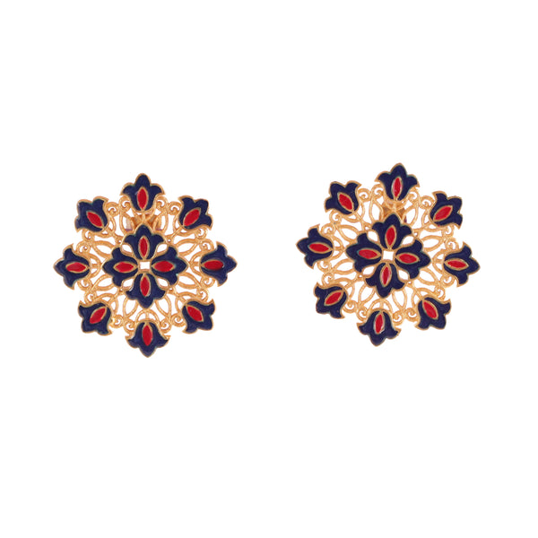 Dreaming Flowers Stud Earrings