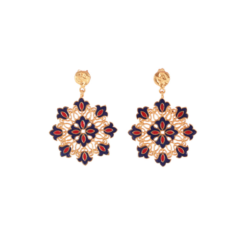Forever Floral Drop Earrings