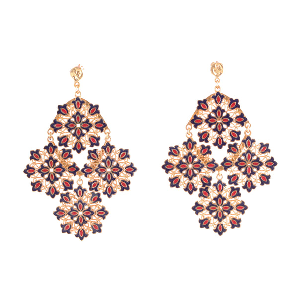 Ready To Bloom Statement Earrings