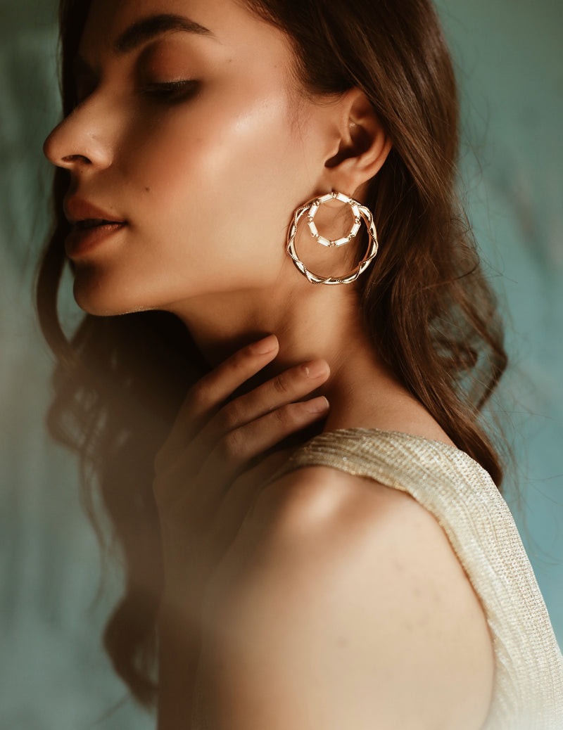 Muriel Hoop Earrings